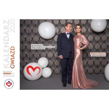 Kalendarz 2020 na rzecz Fundacji Rozwoju Kardiochirugii im Profesora Zbigniewa Religi
